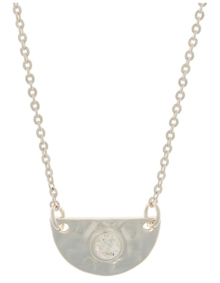 Faith Necklace-Silver image 1