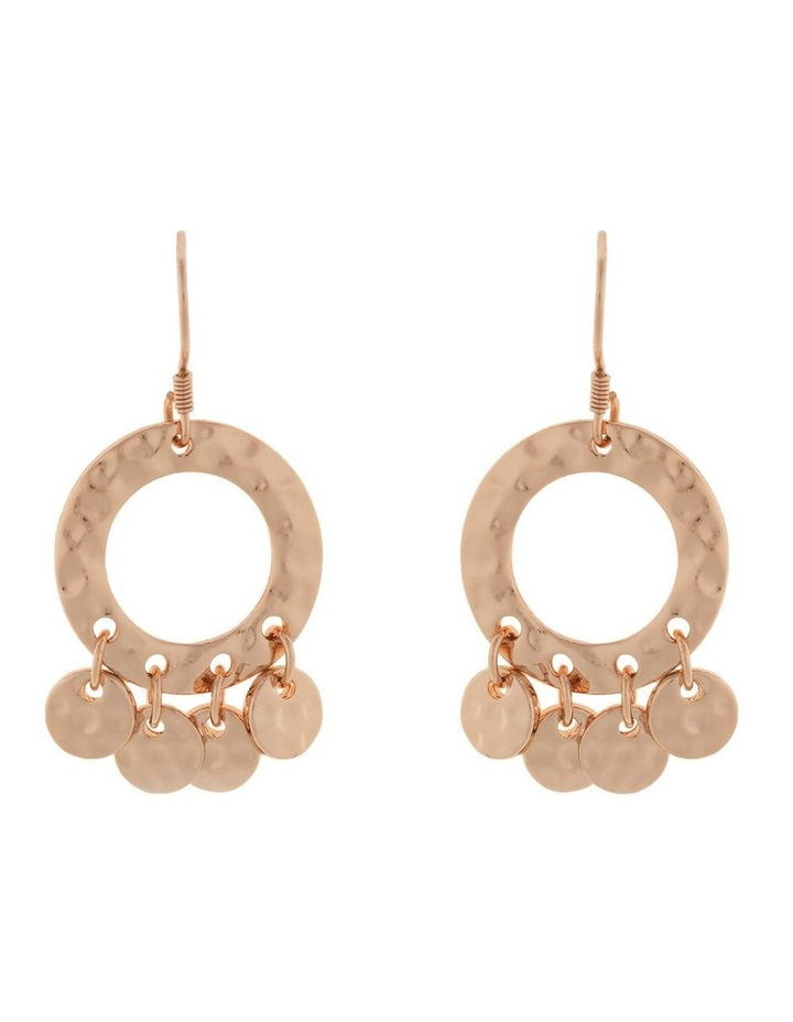 Ring Of Life Earrings - Rose Gold image 1
