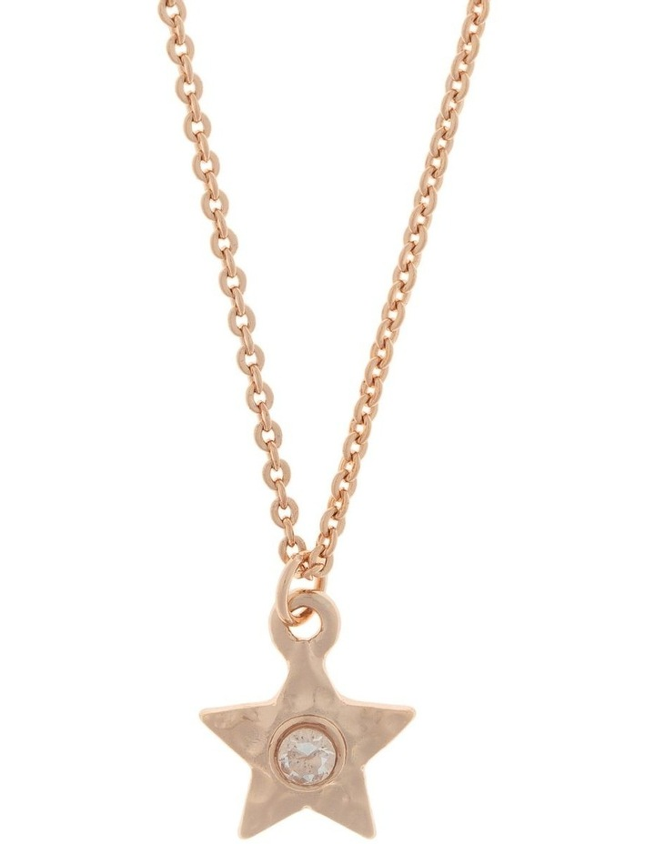Star Necklace-Rose Gold image 1