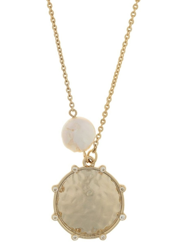 You Are Strong Necklace - Light Gold image 1
