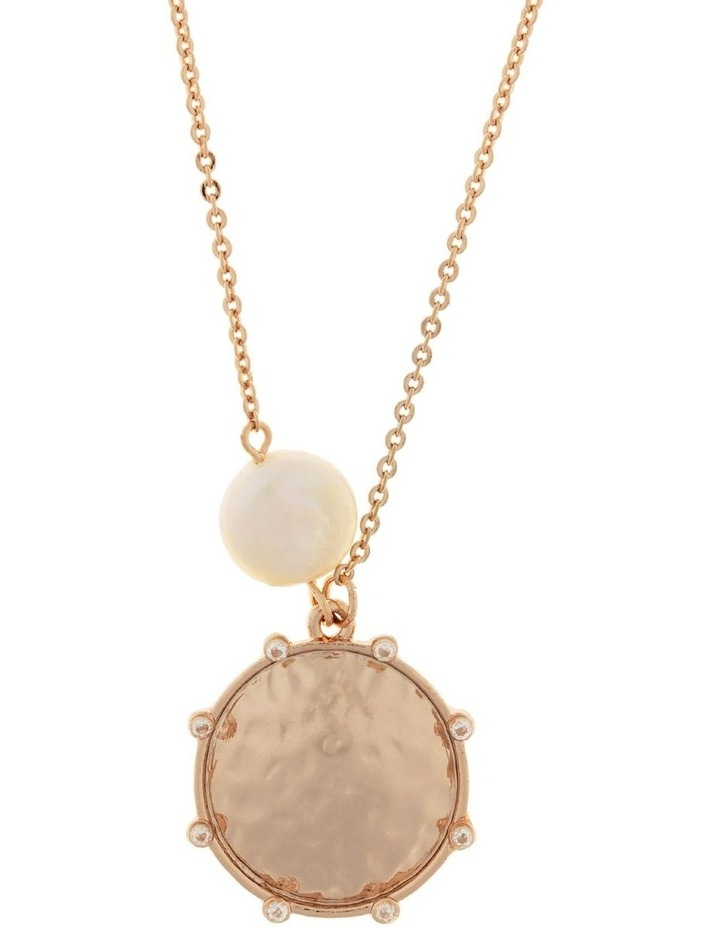 You Are Strong Necklace-Rose Gold image 1