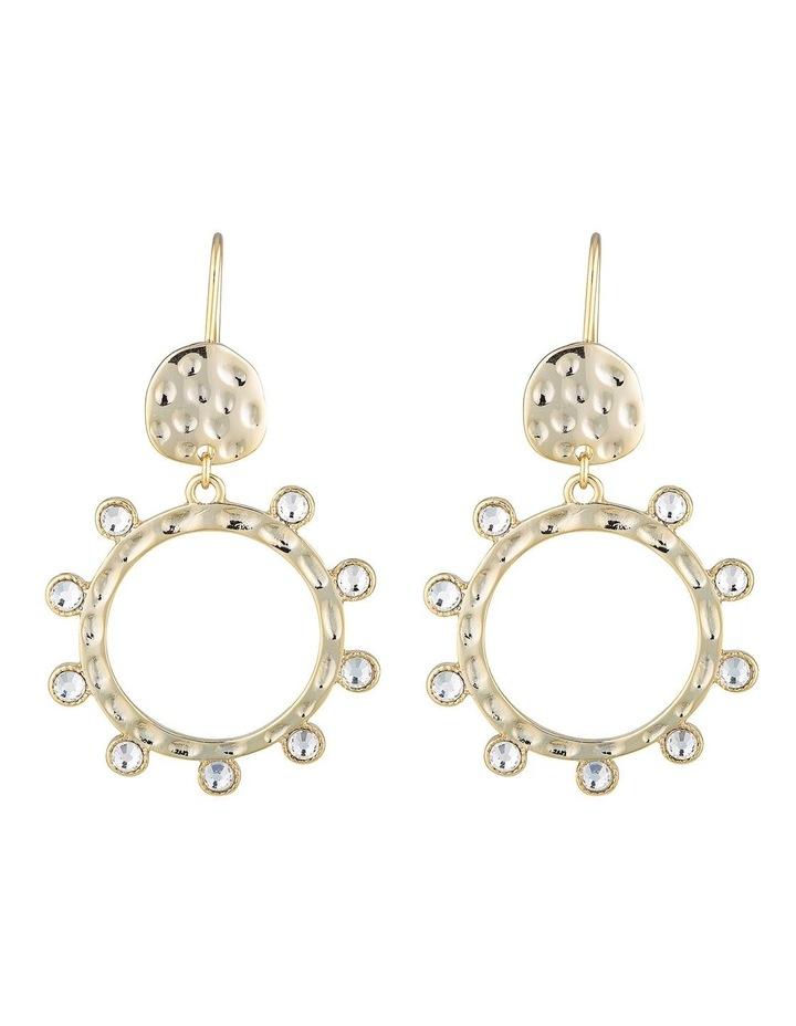 Cleo Opal Drop Earrings - Gold image 1