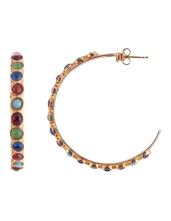 Boheme Stella Earrings w/ Glass Stone image 1