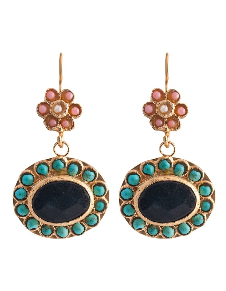 Boheme Olivia Earrings w/ Turquoise image 1