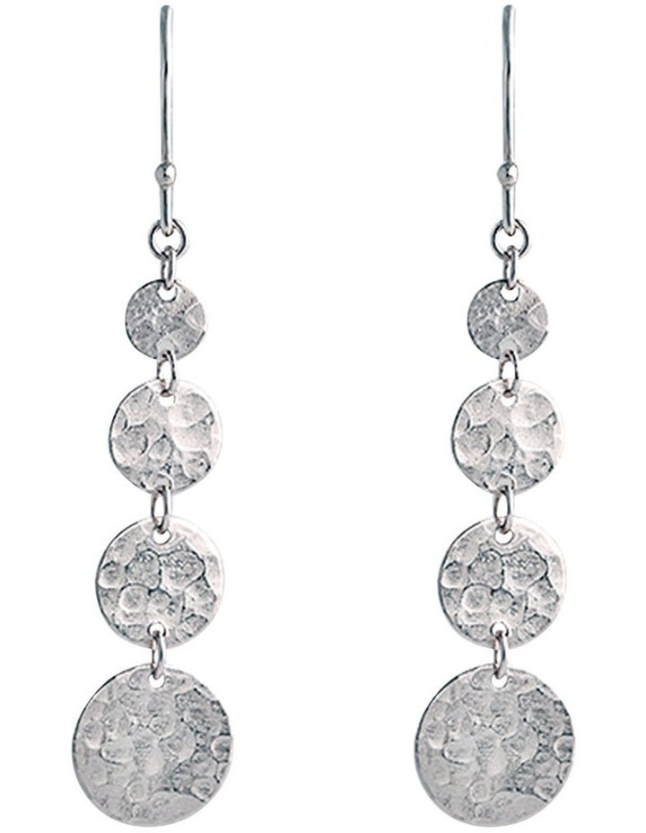 Bon Bon Silver Jingle Hook Earrings image 1