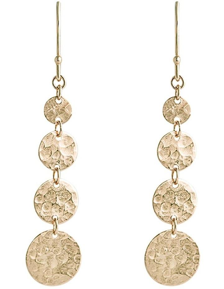 Bon Bon Gold Jingle Hook Earrings image 1