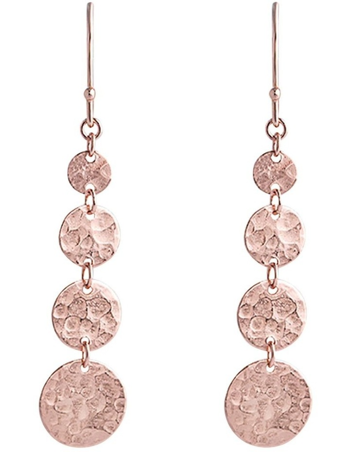 Bon Bon Rose Gold Jingle Hook Earrings image 1