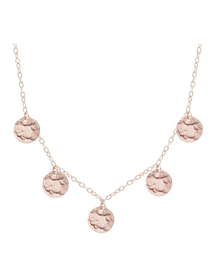 Bon Bon Scattered Jingle Necklace - Rose Gold image 1