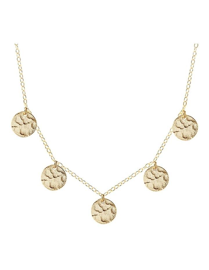 Bon Bon Gold Scattered Jingle Necklace image 1