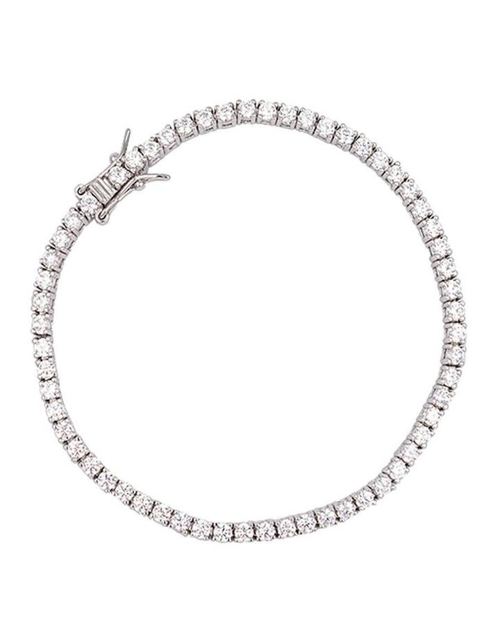 Bel Noir Cz Tennis Bracelet image 1