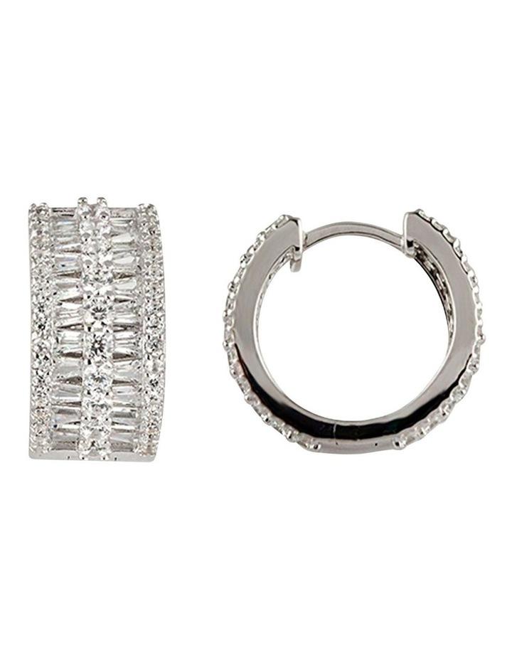 Bel Noir Solar Cubic Zirconia Earrings image 1