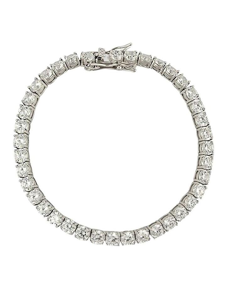 Bel Noir Cubic Zirconia Tennis Bracelet - Large image 1