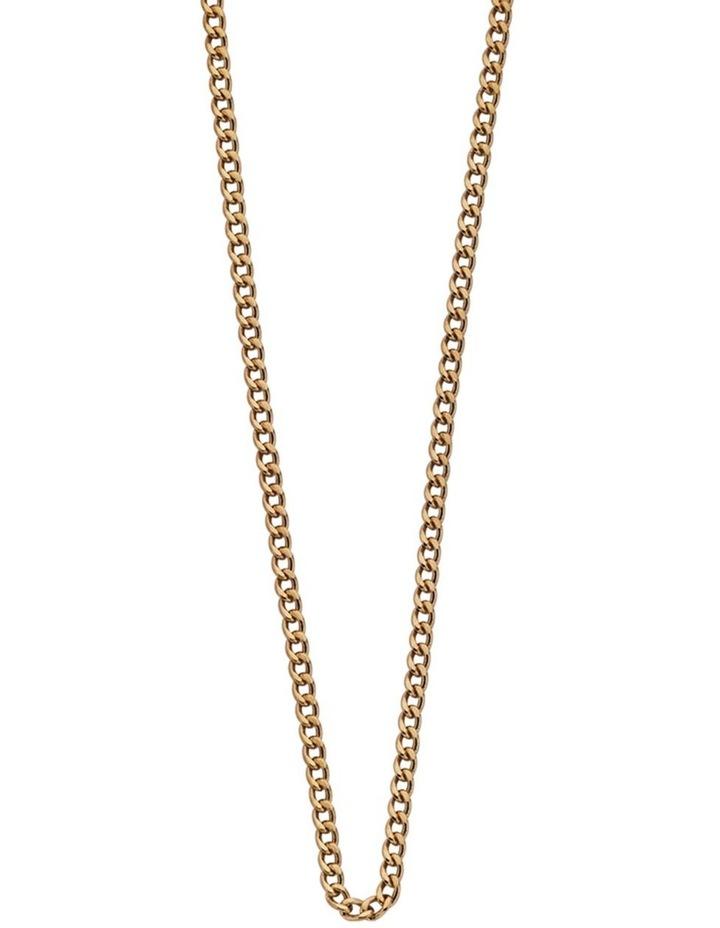 "Bespoke Curb Chain 16"" - 18"" w/ 18K Gold Vermeil image 1"
