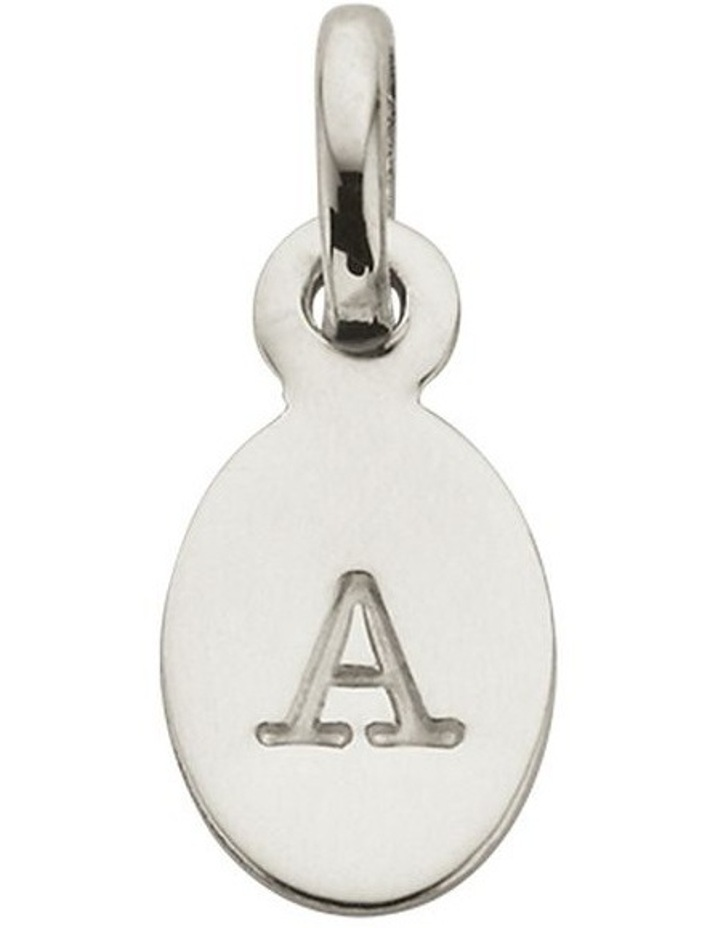 Initial Charm w/ Sterling Silver - A image 1