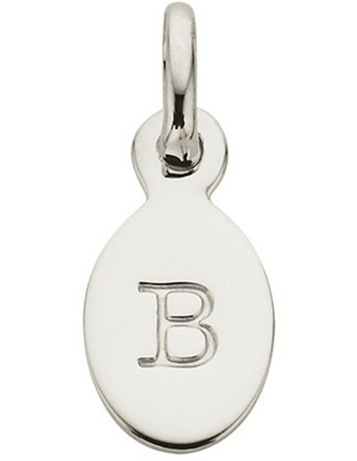 Initial Charm w/ Sterling Silver - B image 1