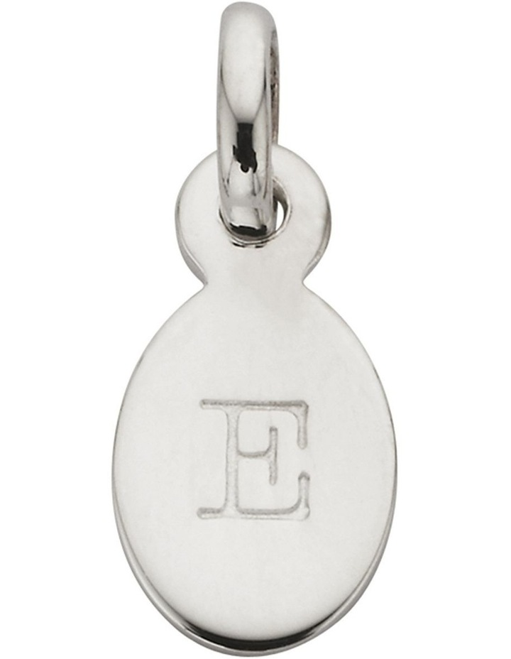 Initial Charm w/ Sterling Silver - E image 1
