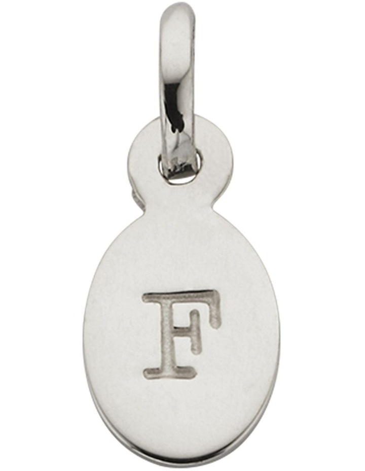 Initial Charm w/ Sterling Silver - F image 1
