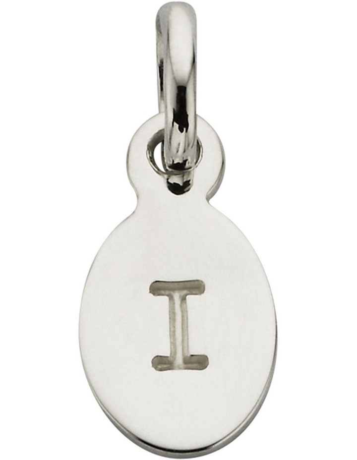 Initial Charm w/ Sterling Silver - I image 1
