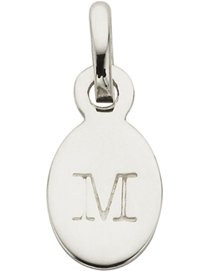 Initial Charm w/ Sterling Silver - M image 1