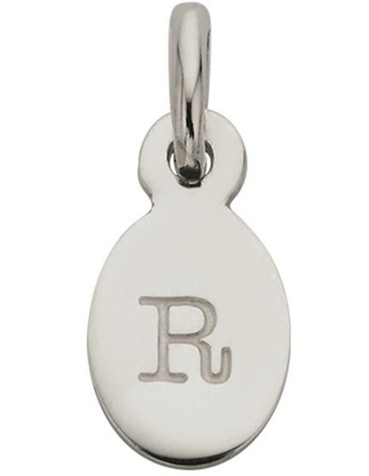 Initial Charm w/ Sterling Silver - R image 1