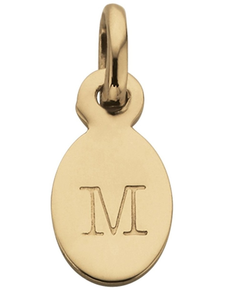 Initial Charm w/ 18K Gold Vermeil - M image 1