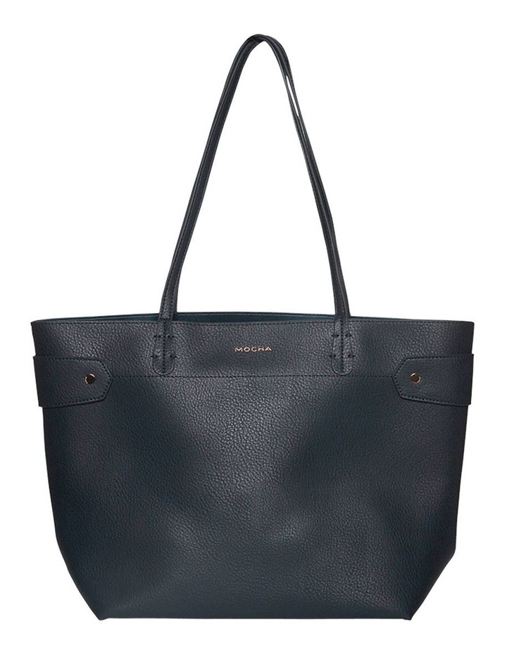 Clip Around Tote Bag-Navy image 1