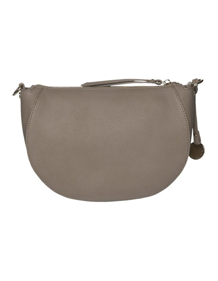 Gabi Half Moon Crossbody Bag-Taupe image 2