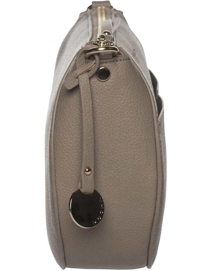 Gabi Half Moon Crossbody Bag-Taupe image 4