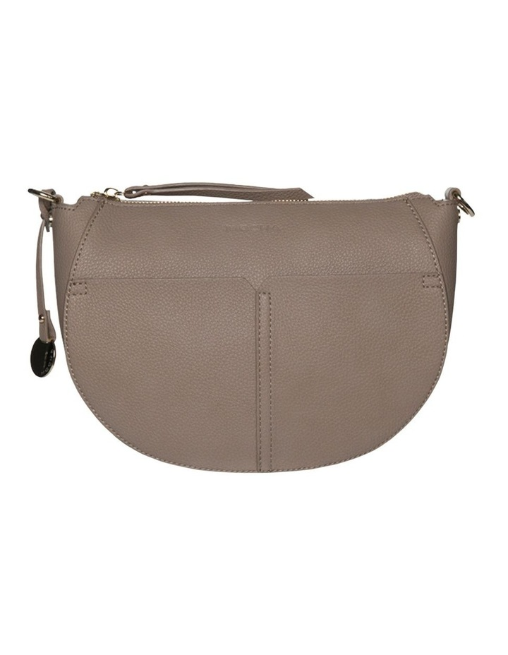 Gabi Half Moon Crossbody Bag-Taupe image 5