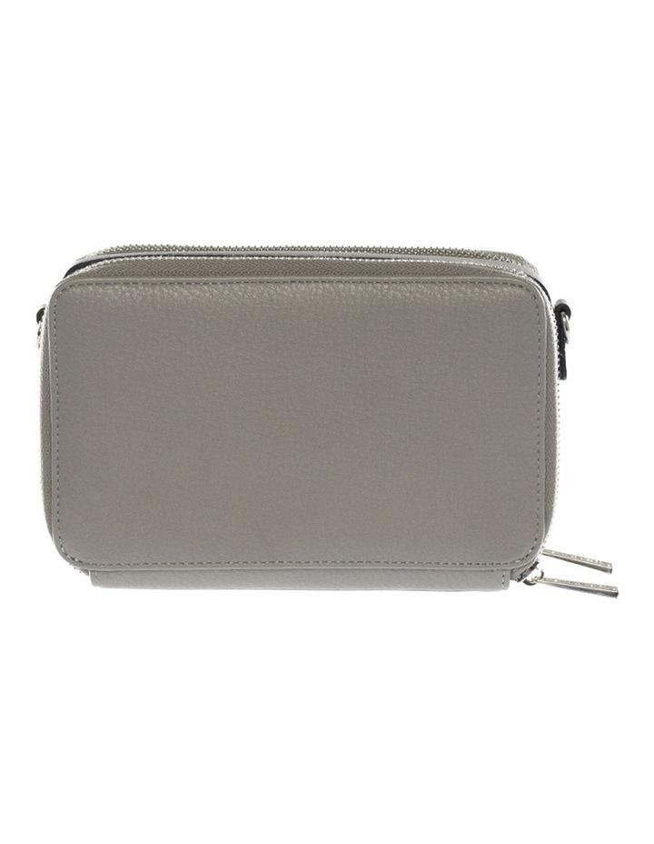 Double Zip Clutch Crossbody Bag - Grey image 2