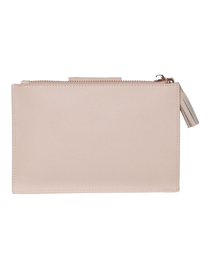 Tassel Clip Leather Coin Wallet - Blush image 1