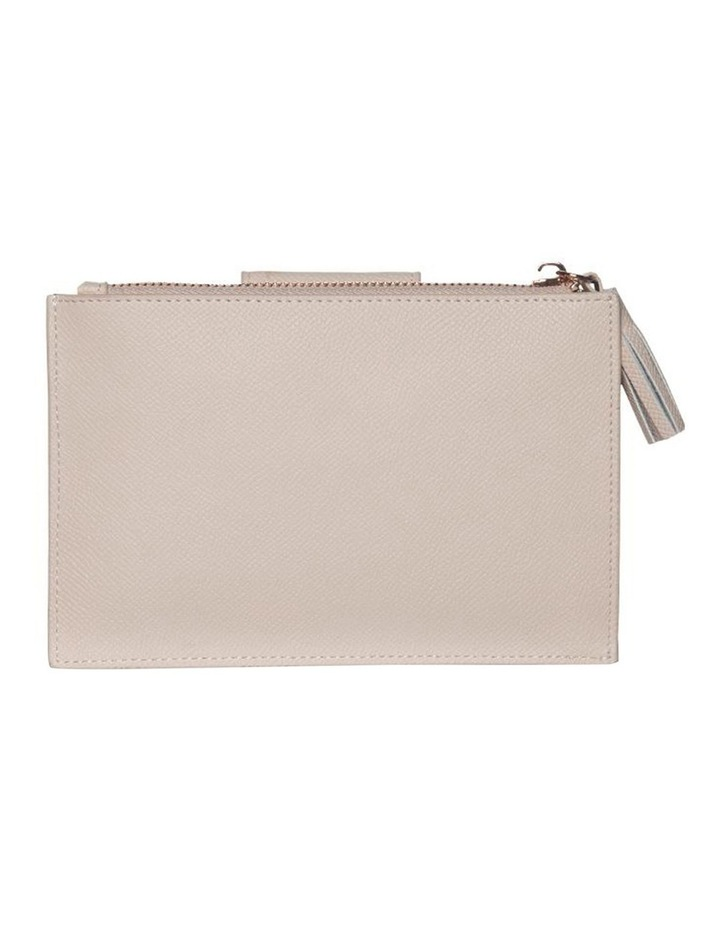Tassel Clip Leather Coin Wallet - Blush image 2