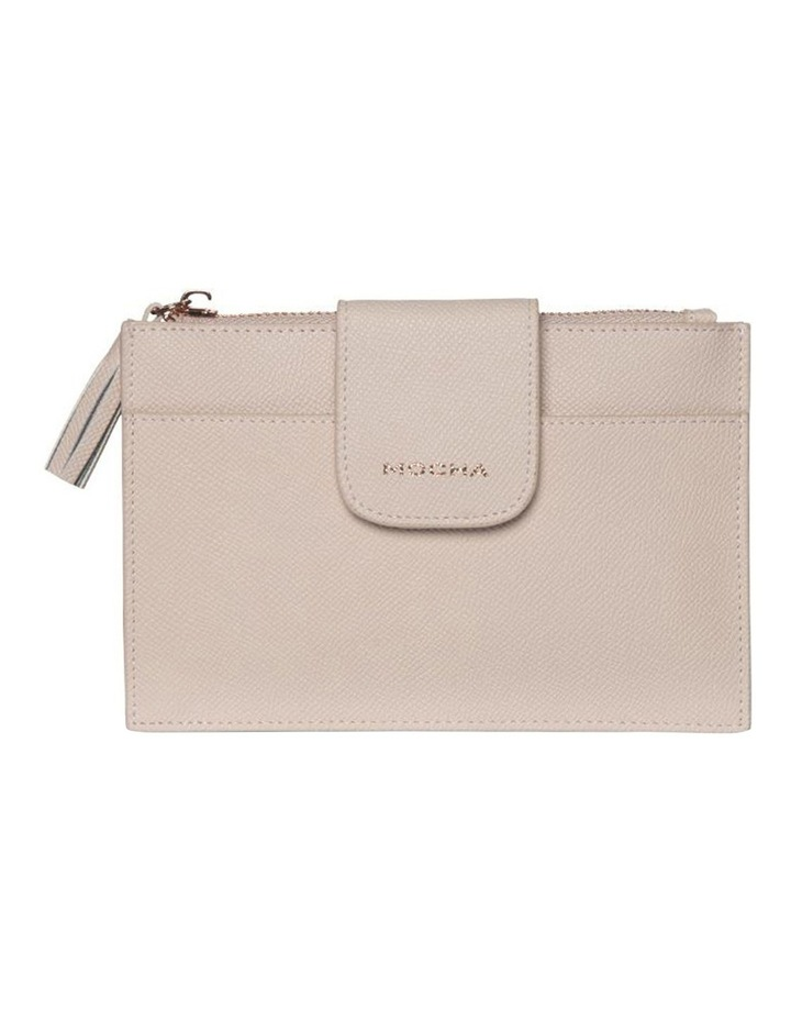 Tassel Clip Leather Coin Wallet - Blush image 4