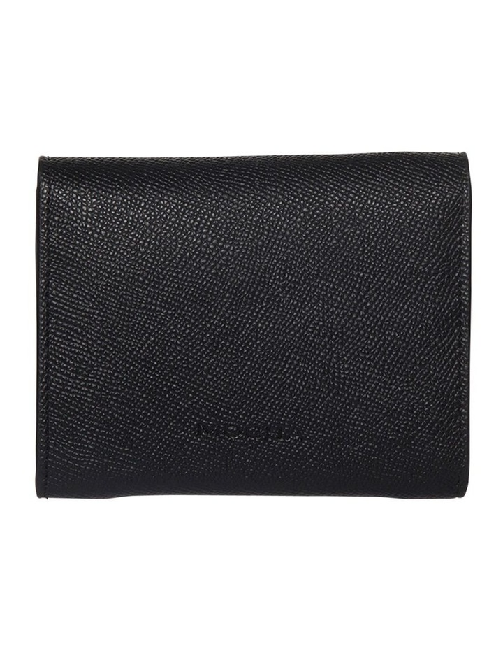 Envelop Leather Coin Wallet - Black image 2