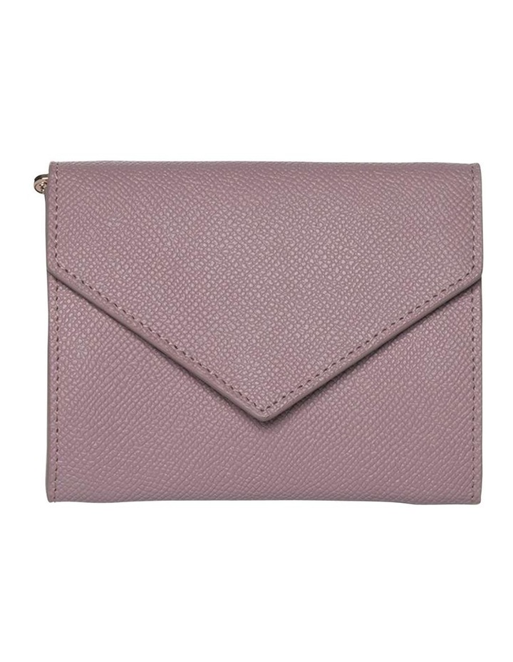Envelop Leather Coin Wallet-Rose image 1