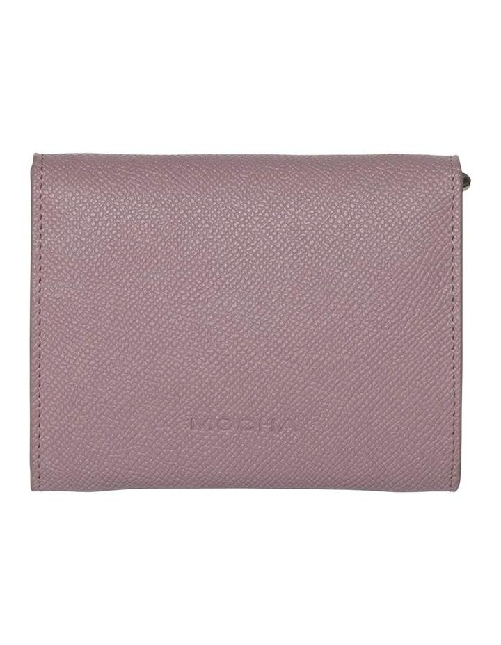 Envelop Leather Coin Wallet-Rose image 2