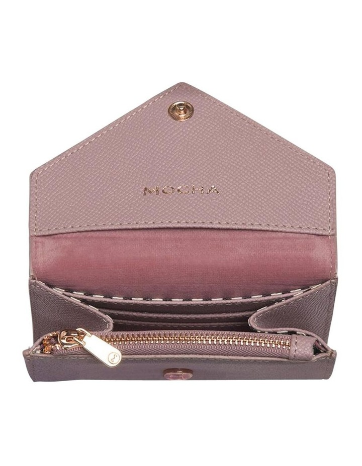 Envelop Leather Coin Wallet - Rose image 3