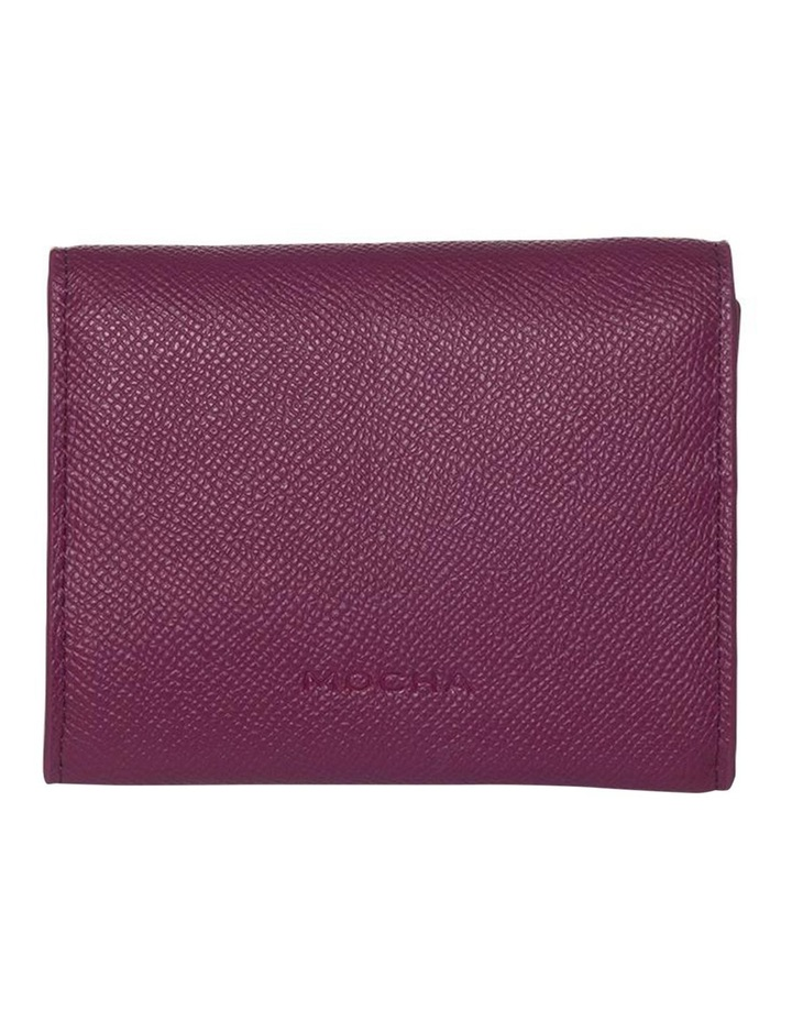 Envelop Leather Coin Wallet - Fuchsia image 2