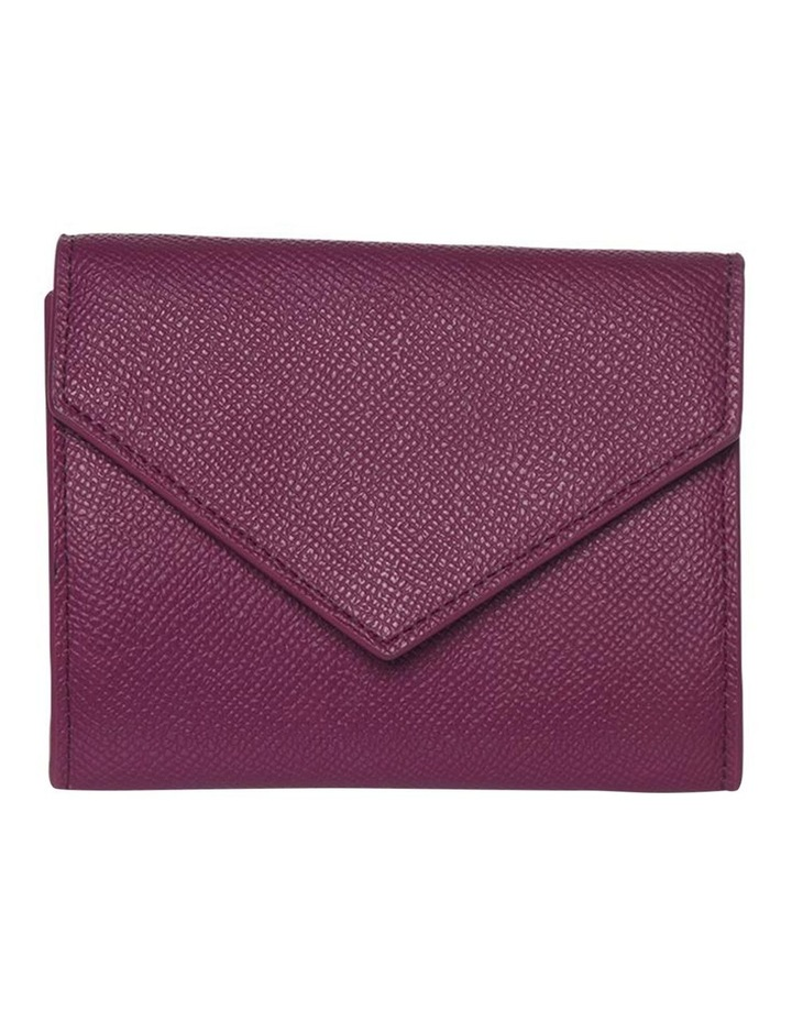 Envelop Leather Coin Wallet - Fuchsia image 4
