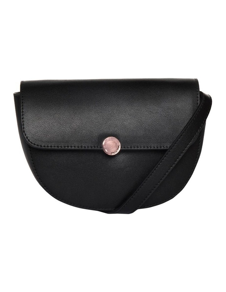Brianna Leather Belt Bag - Black image 1