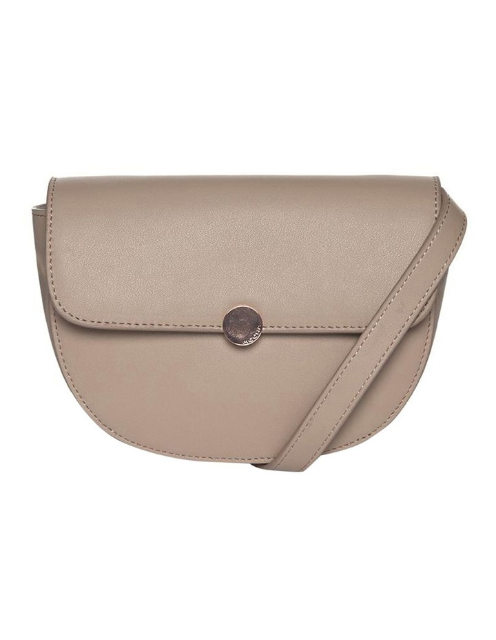 Brianna Leather Belt Bag - Taupe image 6