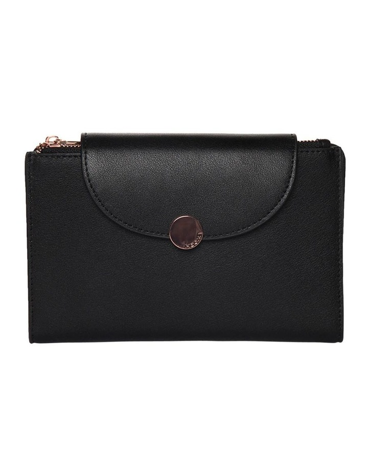 Brianna Leather Wallet Black image 1