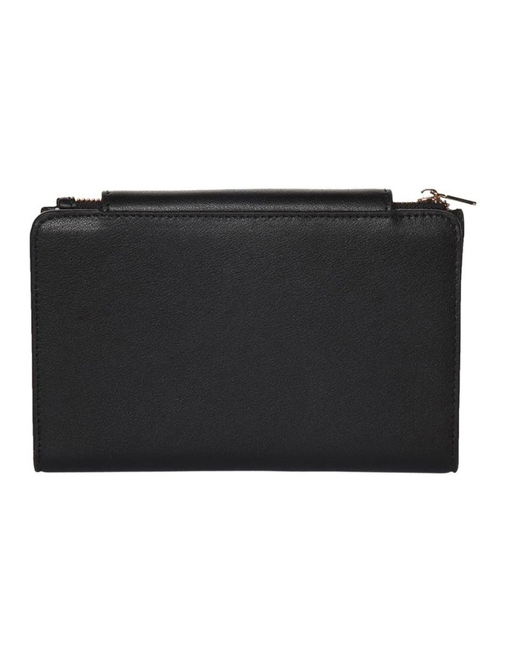 Brianna Leather Wallet Black image 2