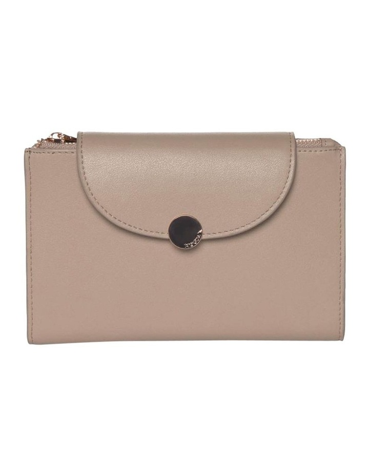 Brianna Leather Wallet Taupe image 1
