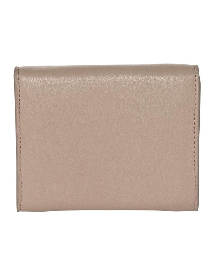 Brianna Leather Coin Wallet-Taupe image 2