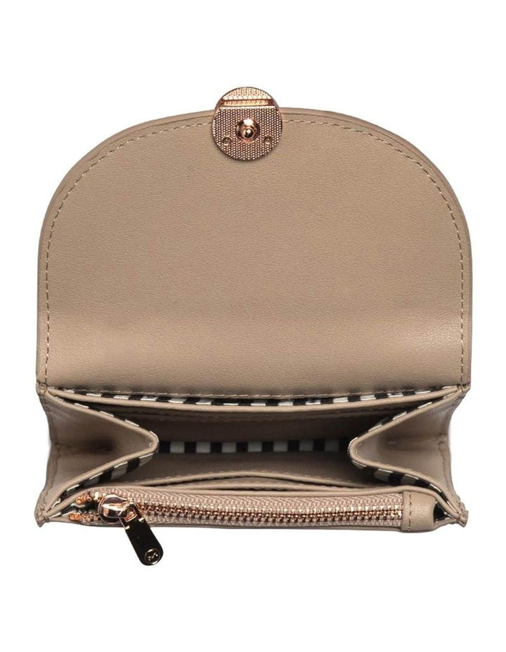 Brianna Leather Coin Wallet-Taupe image 3
