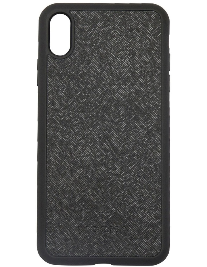 Jane Leather Hard Case For iPhone XS Max - Black image 1