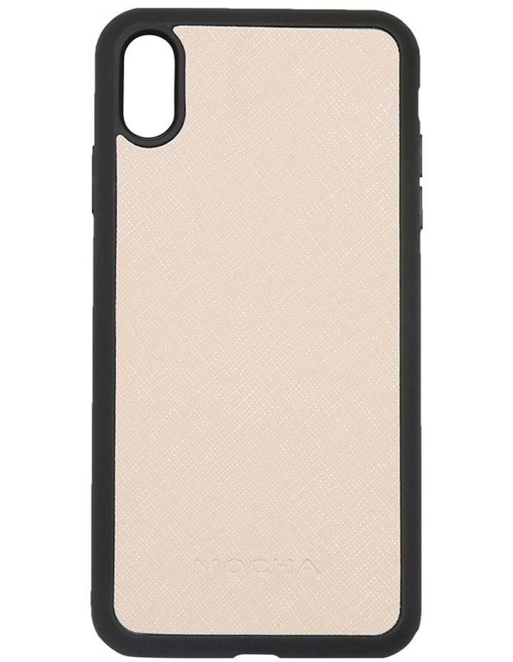 Jane Leather Hard Case For iPhone XS Max - Blush image 1