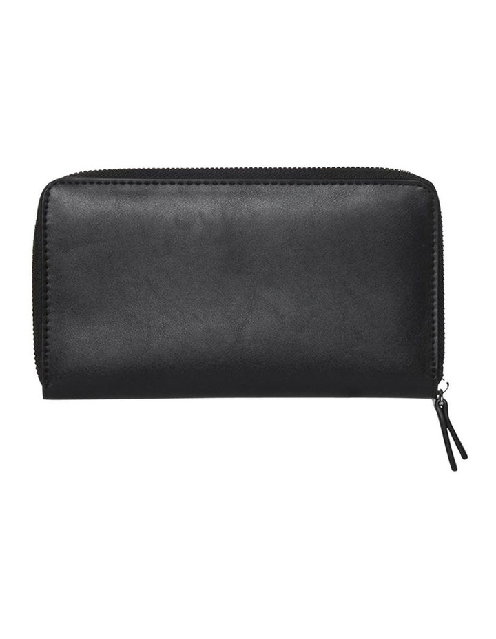 Robbi Zip Around Wallet Black image 2