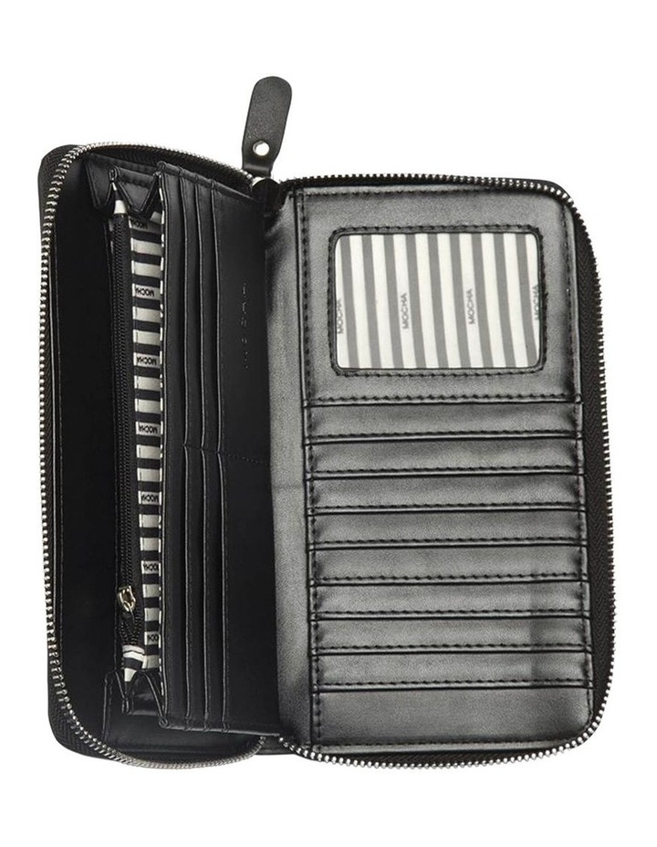 Robbi Zip Around Wallet Black image 3